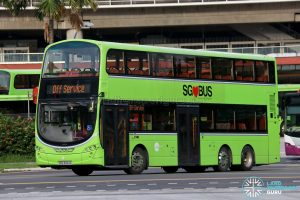 Off Service - Tower Transit Volvo B9TL Wright (SBS3404A)