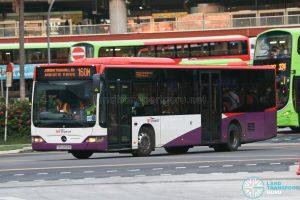 Bus 160M: SBS Transit Mercedes-Benz Citaro (SBS6158R)