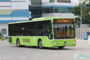 On Test - Tower Transit Mercedes-Benz Citaro (SBS6304K)