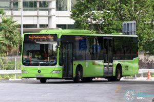 Route Familarisation Training - Tower Transit Mercedes-Benz Citaro (SBS6310S)