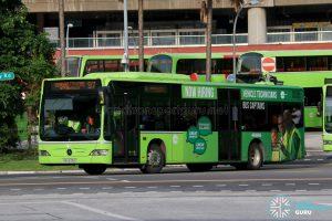 Bus 97 - Tower Transit Mercedes-Benz Citaro (SBS6315D)