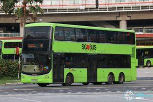 Bus 51 - SBS Transit Volvo B9TL CDGE (SBS7385U)