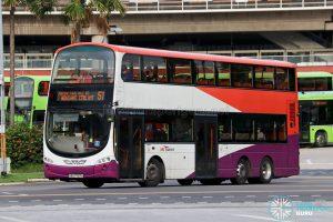 Bus 51 - SBS Transit Volvo B9TL Wright (SBS7707A)