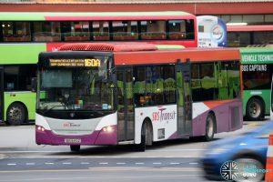 Bus 160A - SBS Transit Scania K230UB Euro IV (SBS8410Z)