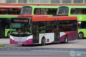 Bus 160A - SBS Transit Scania K230UB Euro IV (SBS8450H)