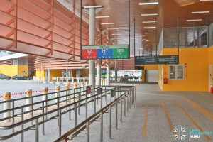 Relocated Jurong East Bus Interchange - Concourse & Berth B2