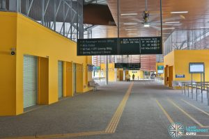 Relocated Jurong East Bus Interchange - Concourse