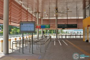 Relocated Jurong East Bus Interchange - Concourse & Berth B3