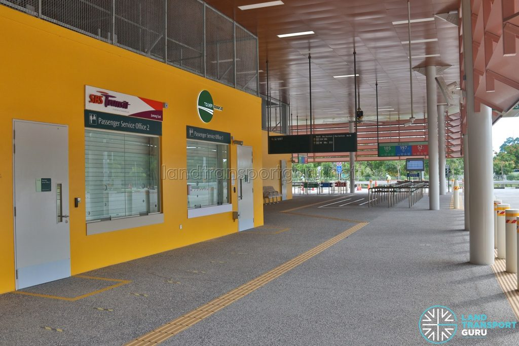 Relocated Jurong East Bus Interchange - Concourse & Passenger Service Offices