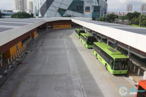 Relocated Jurong East Bus Interchange - Alighting & Boarding Berths