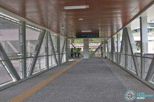 Relocated Jurong East Bus Interchange - Overhead Bridge to Jurong East MRT Station