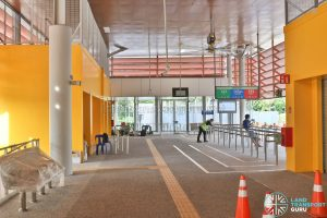 Relocated Jurong East Bus Interchange - Concourse & Berth B7