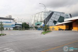 Relocated Jurong East Bus Interchange - Parking Lots