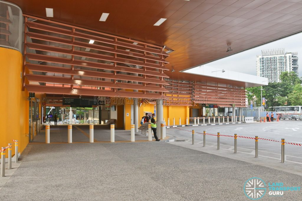 Relocated Jurong East Bus Interchange - Concourse & Emergency Access