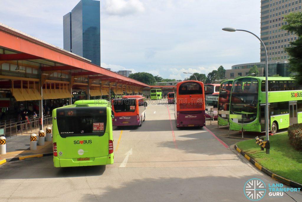 Jurong East Temporary Bus Interchange (November 2020)