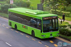 Bus 972 - SMRT Buses Mercedes-Benz OC500LE (SMB124L)
