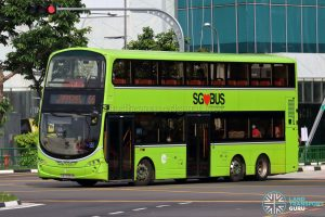 Bus 66 - Tower Transit Volvo B9TL Wright (SBS3354K)