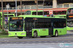 Bus 335 - Tower Transit Mercedes-Benz Citaro (SBS6331G)