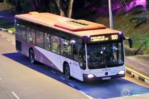 Bus 160 - SBS Transit Mercedes-Benz Citaro (SBS6776G)