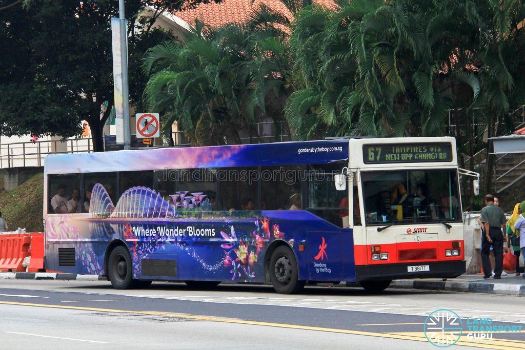 Bus 67 - SMRT Mercedes-Benz O405 (TIB817T)