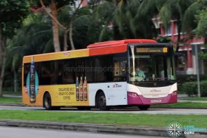 Bus 81 - SBS Transit Scania K230UB Euro IV (SBS8342L)