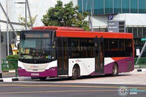 Bus 105 - SBS Transit Scania K230UB Euro IV (SBS8369K)
