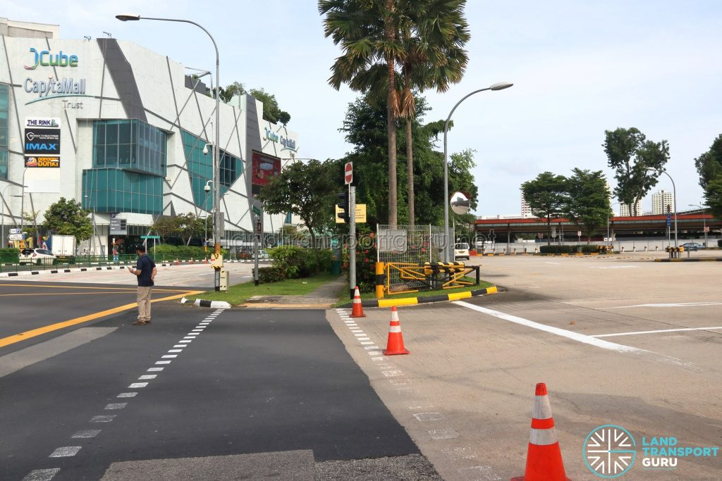 Defunct Jurong East Temporary Bus Interchange - Exit