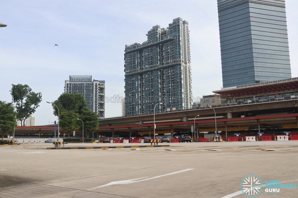 Defunct Jurong East Temporary Bus Interchange - Parking Lots