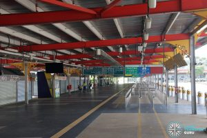 Defunct Jurong East Temporary Bus Interchange - Concourse