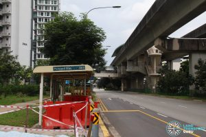 New Bus Stop outside Sumang Station