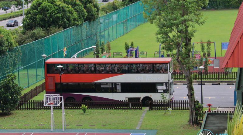 SBS9817C preserved at APSN Chaoyang School