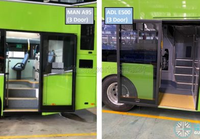 3-Door Buses compared: ADL Enviro500 and MAN A95