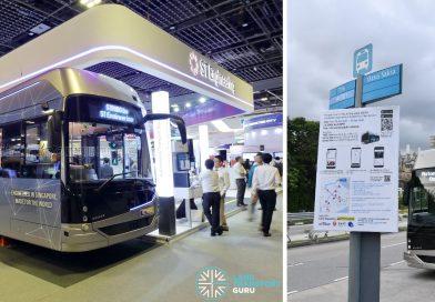 Autonomous Bus Trial @ Jurong Island