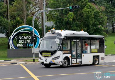 Autonomous Bus Trial @ Science Park 2
