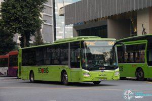 Bus 654 - SBS Transit MAN A22 (SG1774G)