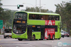 Bus 118A - Go-Ahead Singapore Volvo B9TL Wright (SBS3305C)