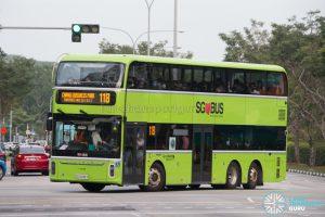 Bus 118 - Go-Ahead Singapore Yutong E12DD (SG7009T)