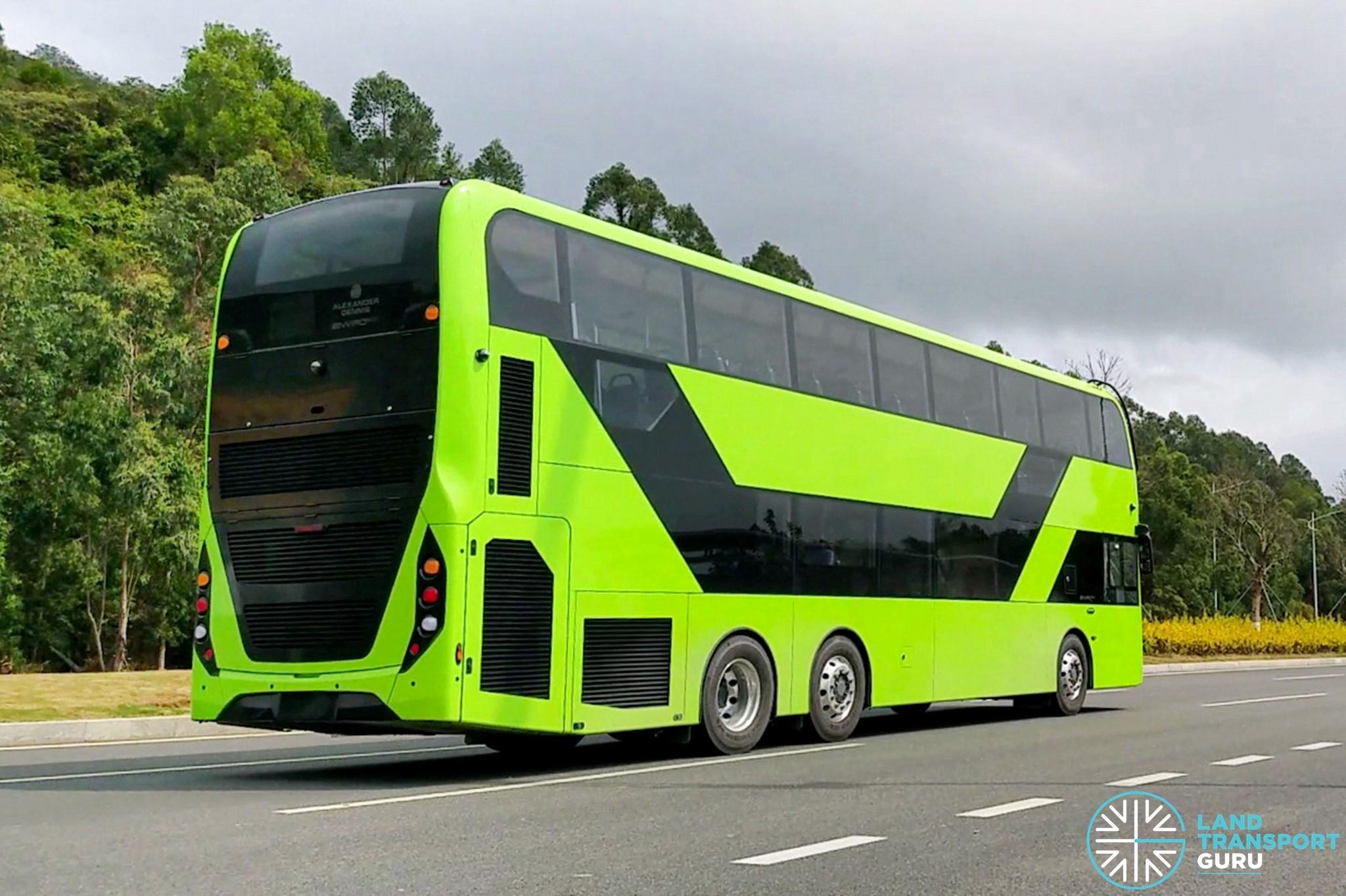 ADL Enviro500 3-Door Bus
