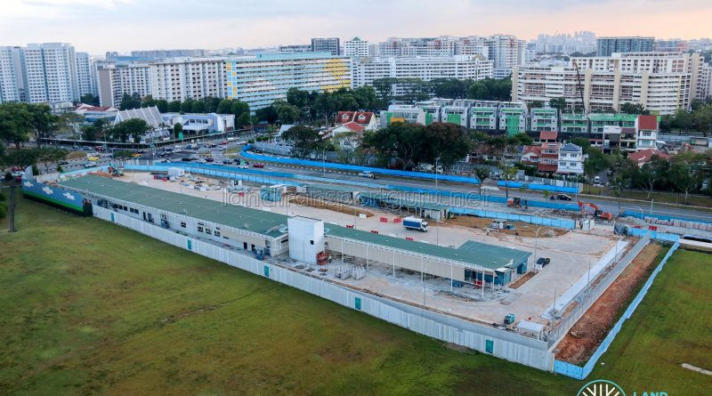Hougang Temporary Bus Parking and Driver Facility - Mar 2021