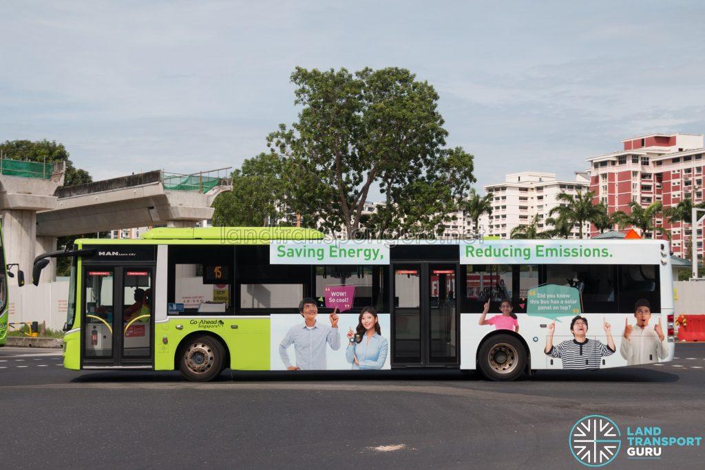 Bus 15 - MAN Lion's City A22 (SG1843R)