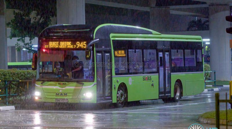 Bus 945 - Tower Transit MAN A22 (SMB3021E)
