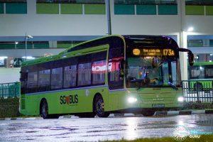 Bus 173A - Tower Transit MAN A22 (SMB3029J)
