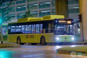 Bus 944 - SMRT Yutong E12 (SG3096S)