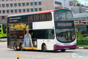Bus 291T - SBS Transit Volvo B9TL Wright (SBS3100B)