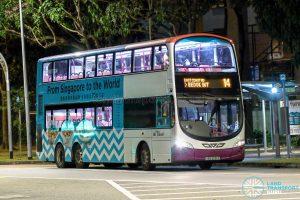 Bus 14 - SBS Transit Volvo B9TL Wright (SBS3251Z)
