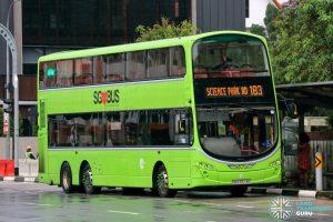 Bus 183 - Tower Transit Volvo B9TL Wright (SBS3373E)