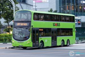 Off Service - Tower Transit Volvo B9TL Wright (SBS3422Y)