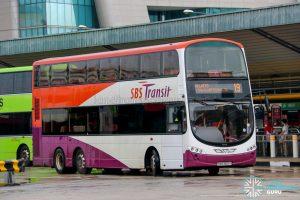 Bus 19 - SBS Transit Volvo B9TL Wright (SBS3601Y)