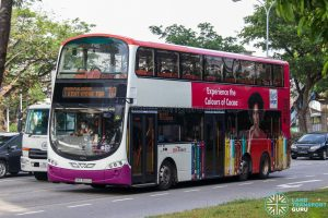 Bus 10 - SBS Transit Volvo B9TL Wright (SBS3607G)