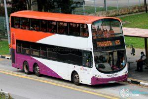 Bus 65 - SBS Transit Volvo B9TL Wright (SBS3744T)